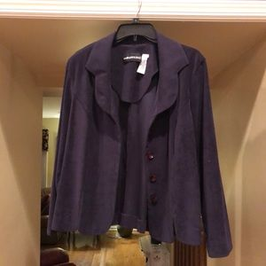Sag Harbor Purple Blazer
